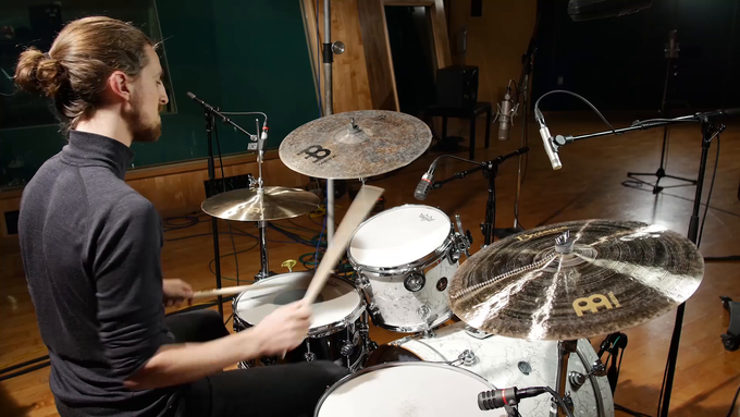 Cymbal Bacon video